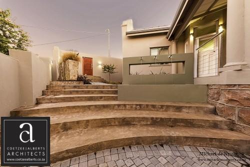 House Harteveld Stone Stairway