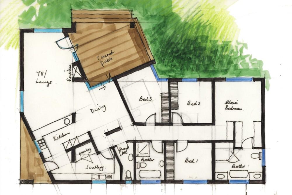 House Borstlap Sketch