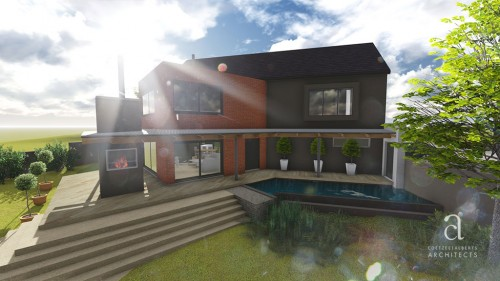 House Wessels Perspective 1