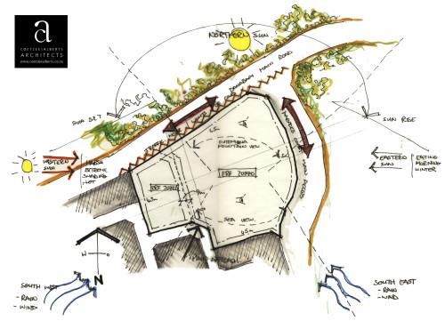Paradise Coast - Site Analysis Hand Sketch (Main Image)
